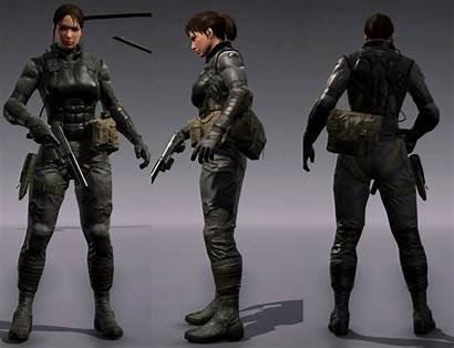 Outfit Mods Solid Suit Female Sneaking Soldiers