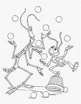 Bugs Coloring Pages Bugslife sketch template