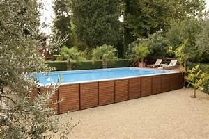 Grande Piscine Hors Sol : grande piscine hors sol rectangulaire spa hors sol ~ Premium-room.com Idées de Décoration