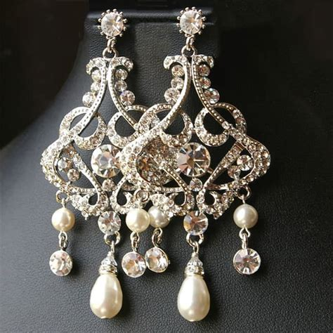 pearl chandelier earrings 15 remarkable chandelier earrings 2016 sheideas
