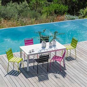 Salon Jardin Maison Du Monde : chaise de jardin en m tal batignoles maisons du monde salon de jardin et terrasse ~ Melissatoandfro.com Idées de Décoration
