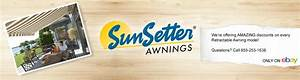 Sunsetter U00ae Awnings