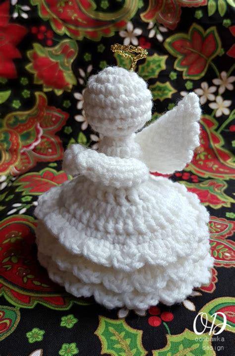 joy crochet angel allfreechristmascraftscom