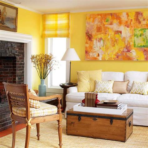 yellow walls living room interior decor decorating with colour what you need to know wood finishes direct