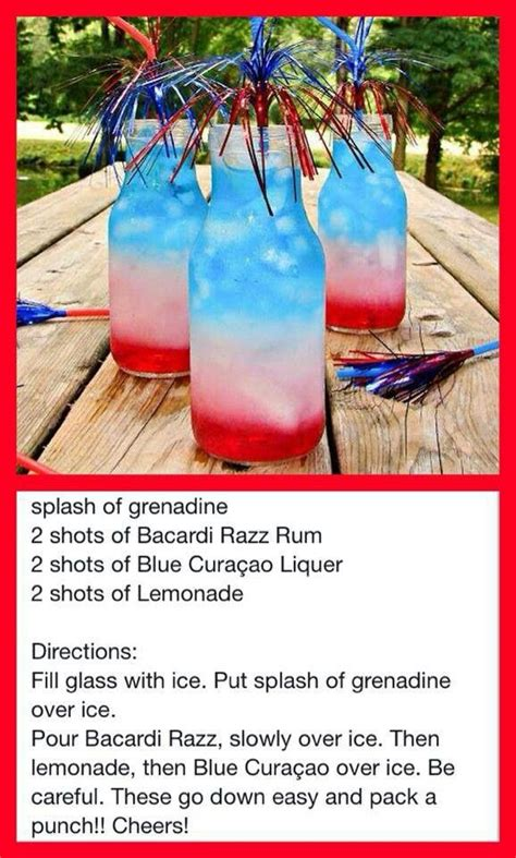 4th of july alcoholic drinks fourth of july punch alcohol drinks pinterest