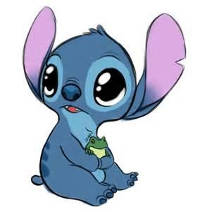 Cute Disney Stitch Drawing