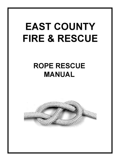 Rope rescue manual (2) by Costa - Issuu