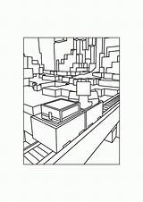 Coloring Printable Gold Miner Minecraft Pages Coloringhome sketch template