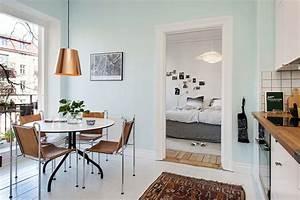 Deco Mur Cuisine : d co scandinave dans une cuisine ~ Teatrodelosmanantiales.com Idées de Décoration