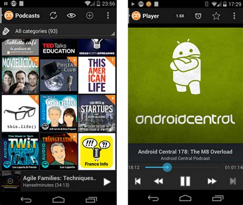 podcast for android best podcast apps for ios and android
