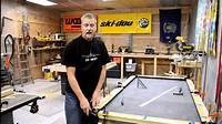 how to make a pool table How to Build a Pool Table, Part 7 - Efforts in Frugality - Episode 5 - YouTube