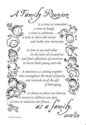 family reunion poems