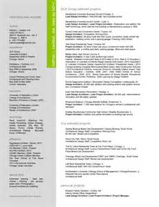 architecture resume search resumes