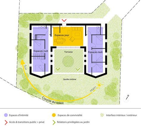 plan de maison plain pied 3 chambres gratuit plan maison plain pied avec 5 chambres ooreka