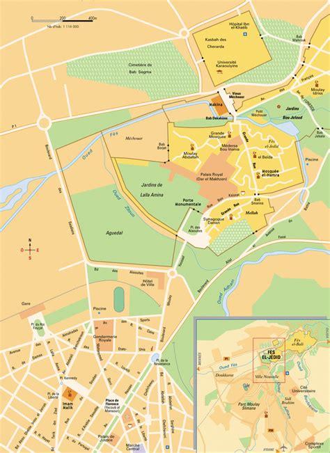 map fes el bali