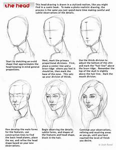 Comic Art Reference Drawing The Head
