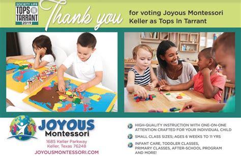 preschool programs keller tx joyous montessori