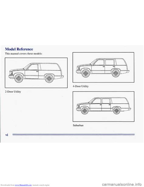 free auto repair manuals 1996 chevrolet g series g30 transmission control chevrolet tahoe 1996 1 g owners manual