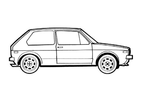 Kleurplaat Golf Gti by Vwvortex Vw Coloring Book