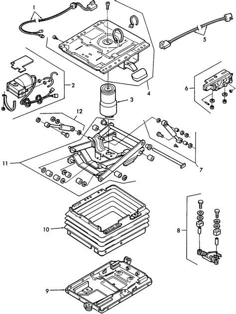 grammer siege air ride seats diagram steel diagram elsavadorla
