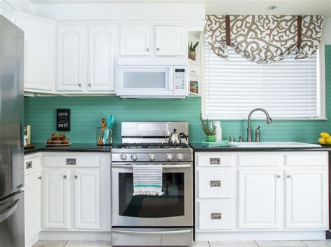 kitchen paneling backsplash how to cover an tile backsplash with beadboard hgtv