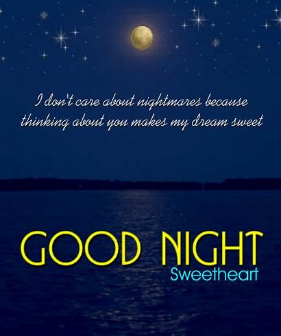 Night Sweetheart Card Gifs Goodnight Animated Cards