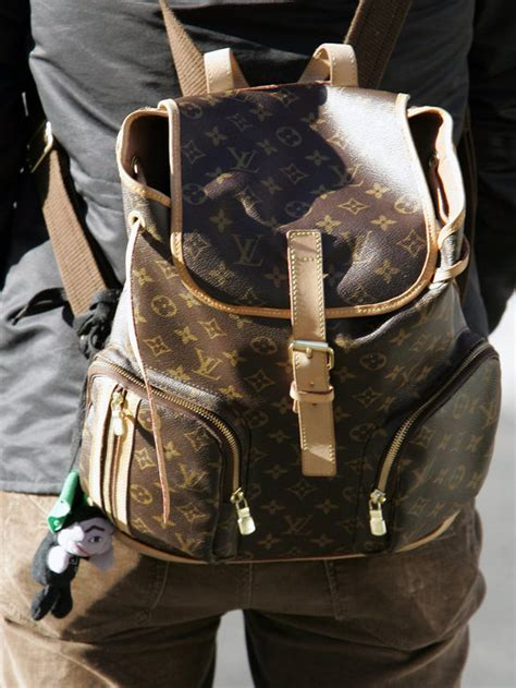 cheap real kanye louis vuitton monogram montsouris gm bosphore canvas backpack purses march