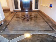 Stained Concrete Floor Design Ideas