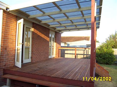 from colorbond to polycarbonate laserlite to a tiled