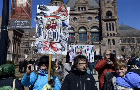 Stoneman Douglas Student Who Attended Toronto's March Against Gun Violence Is Grateful For