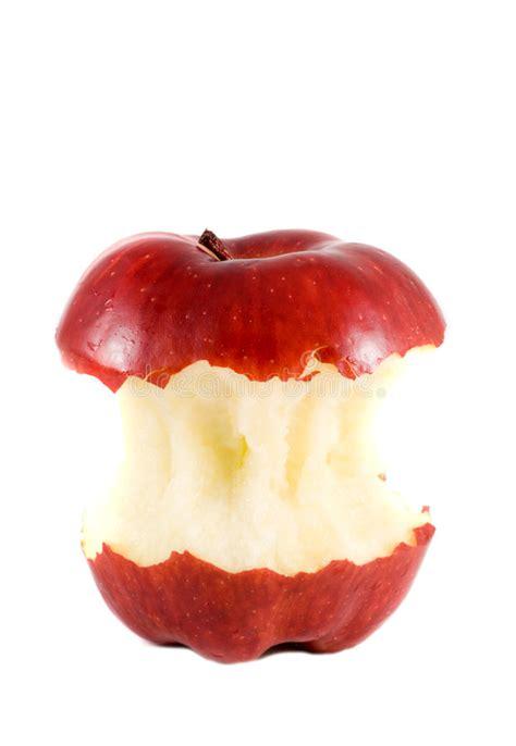 Taken a bite apple stock photo. Image of refreshment ...