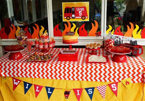 show   party wills fabulous fire truck birthday