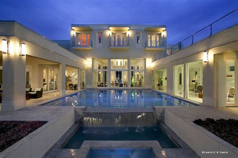 shaped house floor plans shaped house plans  courtyard luxury home plans house