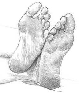 Anatomy Drawing Feet