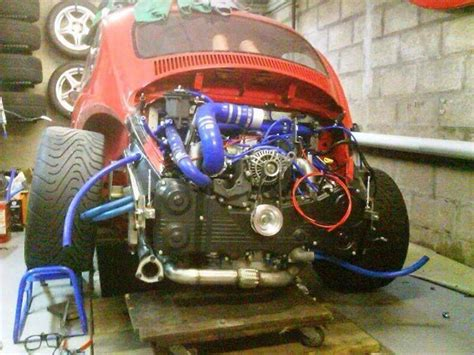 subaru boxer engine in vw beetle volkswagen beetle with a subaru turbo engine vwrxproject
