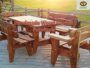 handmade wood garden furniture With homemade wooden garden furniture
