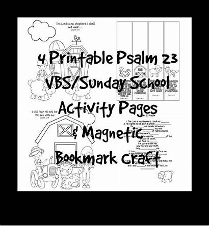 Coloring Printable Pages Activity Vbs Bible Craft