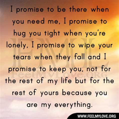 What Was Promised And What Needs To Be I Promise To You Quotes Quotesgram