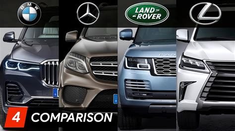 Not only is it better looking than its predecessor (and arguably the x7), but it's larger and more. 2019 BMW X7 Vs Mercedes GLS Vs Range Rover Vs Lexus LX Design & Specifications - YouTube