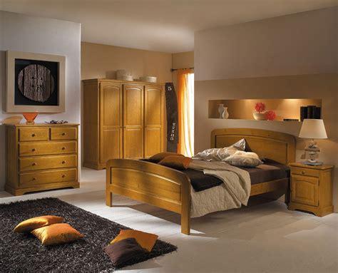 Chambre En Pin - déco chambre meuble en pin