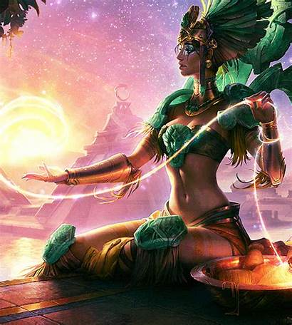 Karma Legends League Goddess Sun Gifs Peace