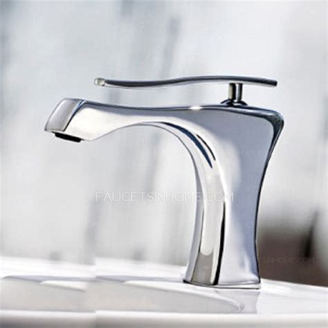 modern kitchen sink faucets modern chrome finish ceramic spool bathroom sink faucets