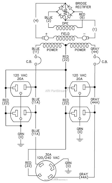 Coleman Powermate Generator Wiring Diagram by Generac Portable Generator Parts Lookup Wiring Source