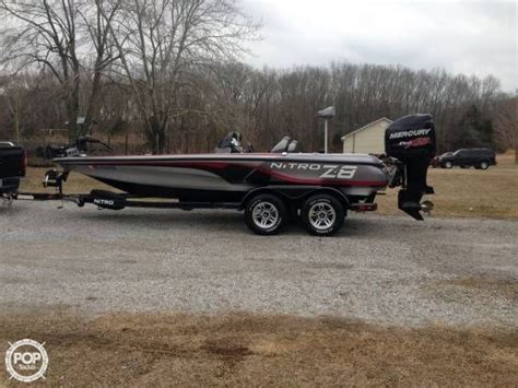 Used Nitro Boats For Sale In Sc by 2013 Used Nitro Z8 Sc Bass Boat For Sale 37 300