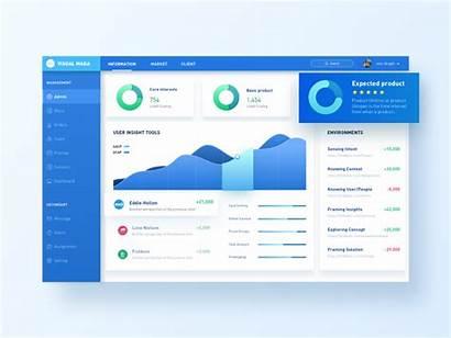Ui Dashboard Data System Dribbble Visualization Monitoring