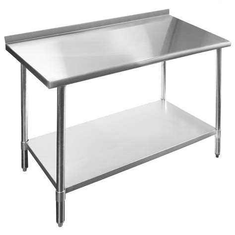stainless steel kitchen island table best 25 stainless steel prep table ideas on 8256