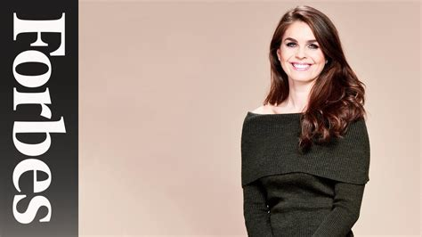 Meet Hope Hicks, Donald Trump's Go-To Gal | Forbes - YouTube