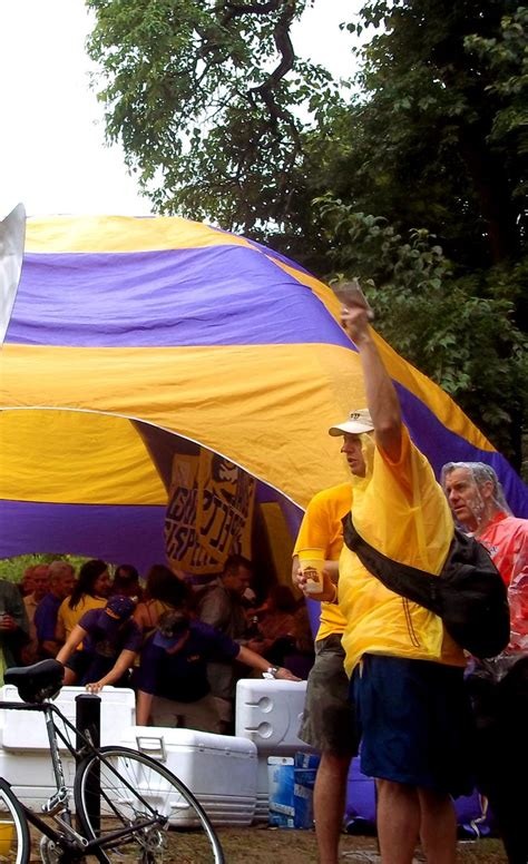 LSU Tailgate | College football tailgate, Lsu, Patio umbrella