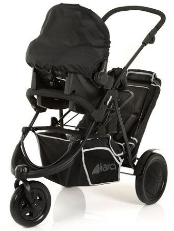 hauck poussette bébé freerider tandem 3 roues