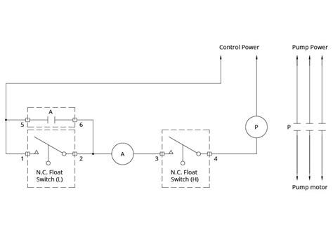 3 Wire Electric Float Switch by Float Switch Installation Wiring Diagrams Apg